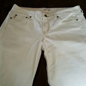 Womens LEI jeans size 9 boot cut White